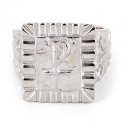 Anello Vescovile Cristo in argento 925°°