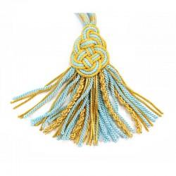 Blue Extra Luxury Pectoral Cross Cord