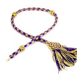 Violet Extra Luxury Pectoral Cross Cord