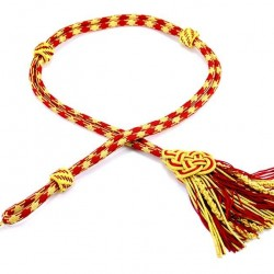 Red Extra Luxury Pectoral Cross Cord