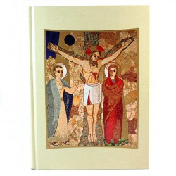 Gospel Book Cover with Images 31x23 cm