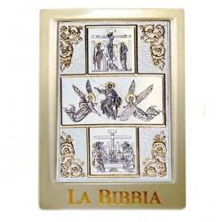 Leather Cover Jerusalem Bible Risen Jesus 19.5x13.5x6.5 cm