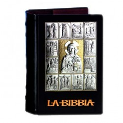 Bible Cover with Christ and Life scenes 20.5x14x6.5 cm