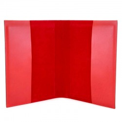 Lectionary Cover Red Real Leather Christ and Virgin 22x32x4.5 cm