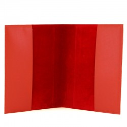 Red Leatherette Missal Case 30x20x8 cm