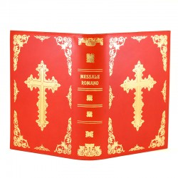 Case for Missal in real red leather 30x20x8 cm