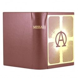 Case for Roman Missal Alpha and Omega 20x29,5x8 cm