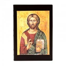Case for Gospels Christ Pantocrator 25x36x5 cm
