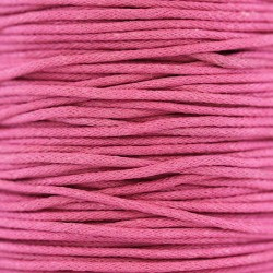 Waxed lace dark pink. Coil 100 meters