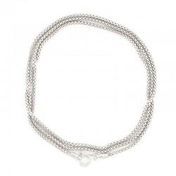 925 rhodium silver chain Length 52 cm