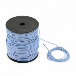 Sapphire waxed lace 100 meters thickness 2 mm
