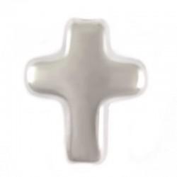 Croce bombata per montaggi con foro passante 10x12 mm