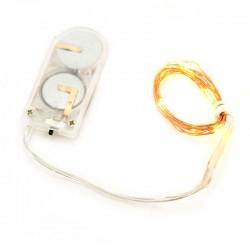 Catena 10 micro Led traditional luce fissa a batteria