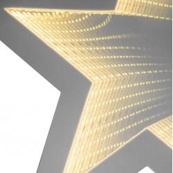 Double sided Star Warm White Light Diameter 35 cm