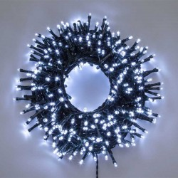 String 2000 white LED green wire 4+40.5 m