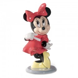 Statuetta Minnie Disney in porcellana lucida 19 cm Lladrò