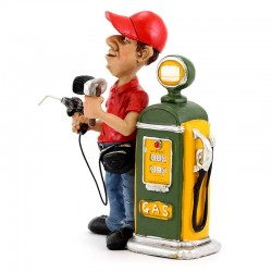 Gas Station Worker 15 cm Funny Collection