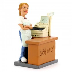 Cashier 16 cm Funny Collection