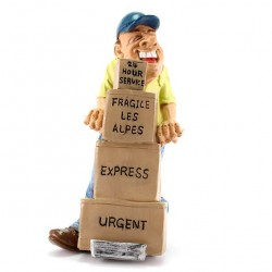 Warehouseman/Courier 17 cm Funny Collection