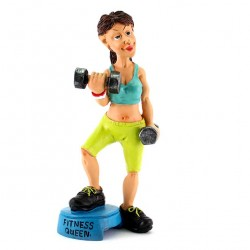 Fitness Queen 17 cm Funny Collection