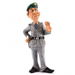 Customs Officer 18 cm Funny Collection