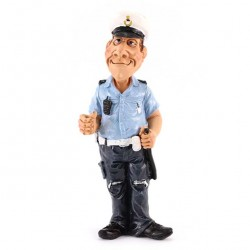 Traffic Policeman 18 cm Funny Collection