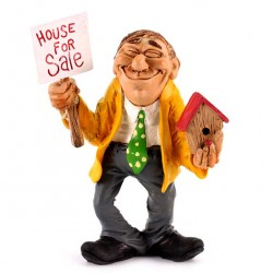 Real Estate Agent 15 cm Funny Collection