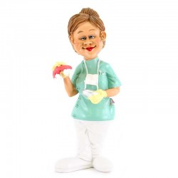 Dentista donna 18 cm Funny Collection