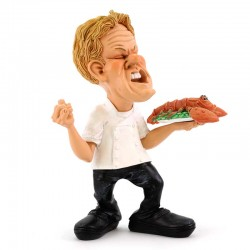 Chef with Lobster 18 cm Funny Collection