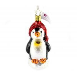 Addobbo Pinguino 10,5 cm Inge-Glas