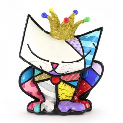 Figura Re Gatto 14 cm Romero Britto 334533