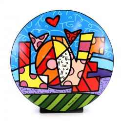 Vaso Love 30 cm Romero Britto GOEBEL
