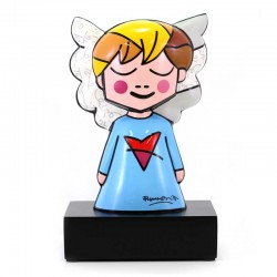 Figura Blue Angel 25 cm Romero Britto GOEBEL