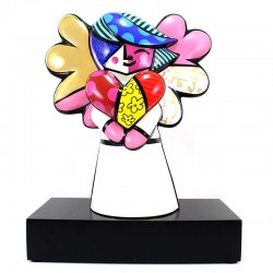Figura Faith 38 cm Romero Britto GOEBEL
