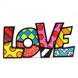 Scritta Love 19x9 cm Romero Britto 331483