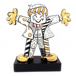 Figura Golden Hug Too 47 cm Romero Britto GOEBEL