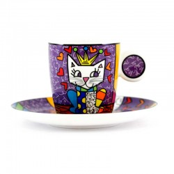 Tazza espresso Her Royal Highness Romero Britto GOEBEL