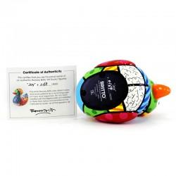 Happy duck in limited edition 11,5 cm Romero Britto 334274