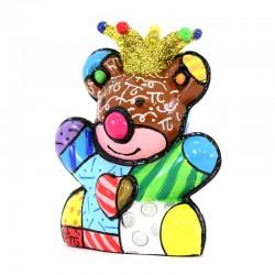 Statuette Bear Anniversary Britto 6,5 cm Romero Britto 334535