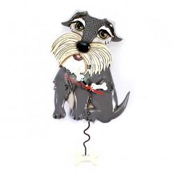 Lucy dog Clock 26x18 cm Allen Designs