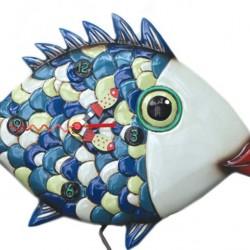 Fish lips clock 31x21 cm Allen Designs