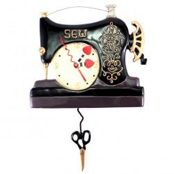 Sewing Machine Clock 23x20 cm Allen Designs