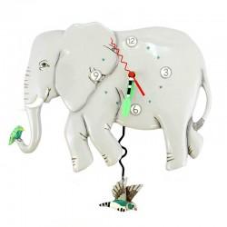 Orologio Elefante 22x31 cm Allen Designs