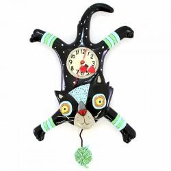 Orologio Gatto nero 25x34 cm Allen Designs
