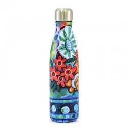 Thermal bottle with Flowers decoration 27 cm Allen Designs