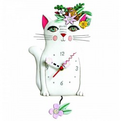 Orologio Gatto Pretty Kitty 18x27 cm Allen Designs