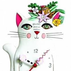 Orologio Gatto Pretty Kitty 18x27 cm Allen Designs