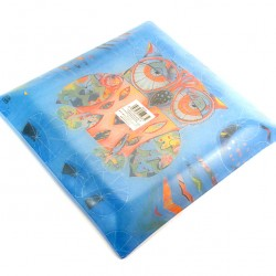 Ceramic Pocket Emptier with Owl 30x30 cm