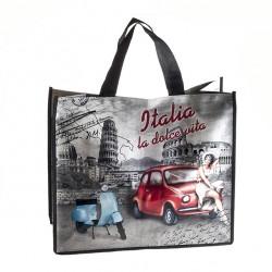 Shopping Bag La Dolce Vita 40x46x18 cm