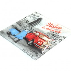 Glass Pocket Emptier 17.5x14.5 cm La Dolce Vita